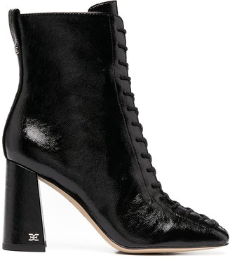 Sam Edelman Lace-Up Ankle Boots