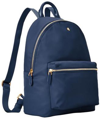 Lauren Ralph Lauren 431795043004 Soft Nylon Zip Around Back Pack