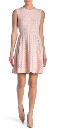Ted Baker Vellia Flippy Knit Skater Dress