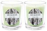 Qualitas Candles Garden Mint Beeswax Candles (Set of 2) (6.5 OZ)