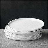 Crate & Barrel Set of 8 Mercer Dinner Plates