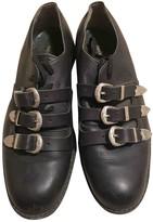 Comme des Garcons Black Leather Lace ups