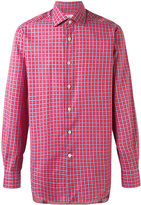 Kiton checked shirt - men - Cotton - 38