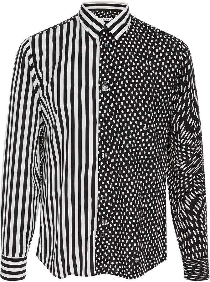 Givenchy Printed Crepe Shirt