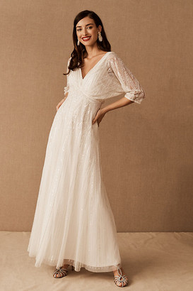 BHLDN Ellesmere Dress By in White Size 0