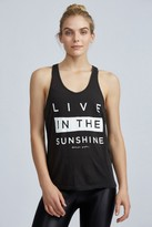 Spiritual Gangster Live In The Sunshine Racerback Tank