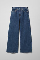 Weekday Ace High Wide Jeans - Blue