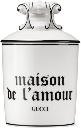 """Gucci Freesia, XL """"Maison De L'Amour"""" candle"""