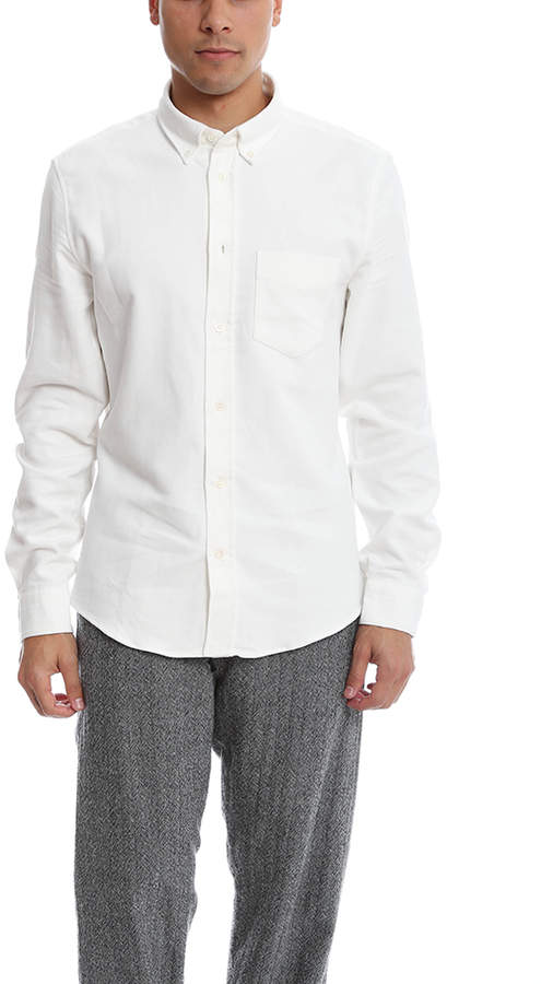 Acne Studios Isherwood Moleskin Button Down