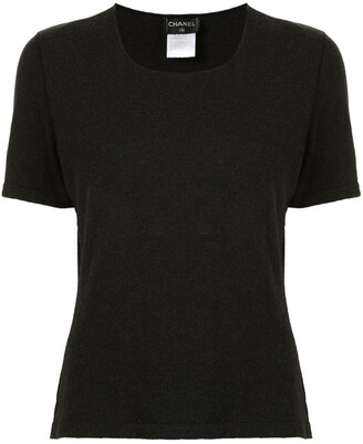 Chanel Pre Owned 1999 Round Neck Knitted Top