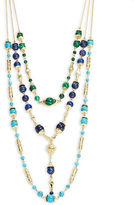 House Of Harlow Cairo Multi-Row Beaded Necklace
