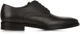 Lanvin Contrast-leather lace-up derby shoes