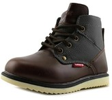 Levi's Jax Ultra Youth Round Toe Leather Brown Boot.