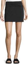Helmut Lang Scuba Mini Skirt, Black