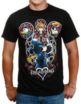Disney Kingdom Hearts Unlocked Mysteries Black T-Shirt Small