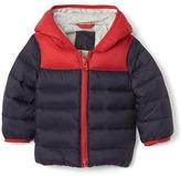 Gap ColdControl Max colorblock hoodie puffer