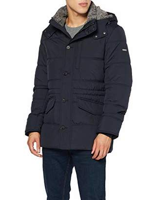 Hackett London Men's Polar Fleece Anorak Jacket