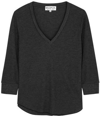 Wildfox Couture Leroy grey jersey sweatshirt