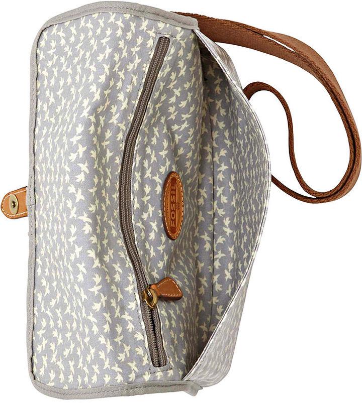 Fossil Handbag, Key-Per East West Mini Crossbody