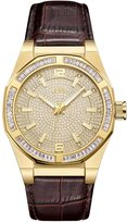 JBW Men's J6350B Apollo 0.10 ctw 18k -plated stainless-steel Diamond Watch