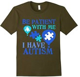 Be Patient With Me I Have Autism T-Shirt Autism Day Gifts