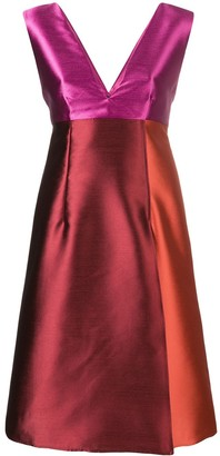 Gianluca Capannolo Sleeveless Patchwork Dress