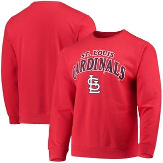 Stitches Men's Red St. Louis Cardinals Sweatshirt