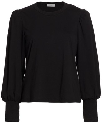 A.L.C. Karter Blouson Long-Sleeve T-Shirt