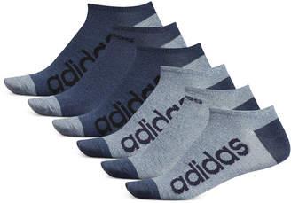 adidas Men 6-Pk. Superlite Linear No-Show Socks