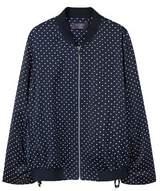 Violeta BY MANGO Polka dot bomber jacket