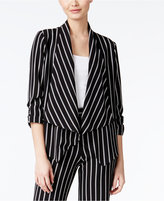 Amy Byer Juniors' Striped Blazer