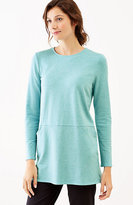 J. Jill Pure Jill Seamed Two-Pocket Tunic