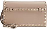 Valentino Rockstud small leather clutch