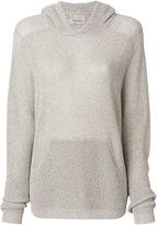 Laneus plain hoodie