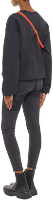 Acne Studios Climb Cropped Patchwork Mid-rise Skinny Jeans