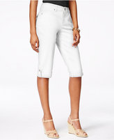 Style&Co. Style & Co Cuffed Denim Skimmer Shorts, Created for Macy's