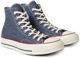 Converse - 1970s Chuck Taylor All Star Denim High-top Sneakers