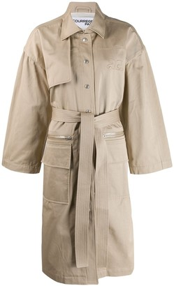 Courreges Boxy Trench Coat