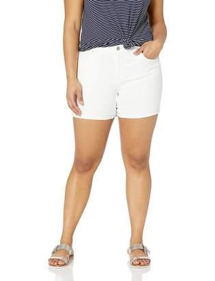 Jessica Simpson Women's Forever Roll Cuff Short Gardner-Fray 27