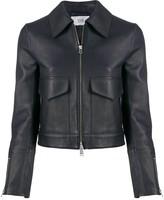 Victoria Victoria Beckham patch pocket cropped jacket
