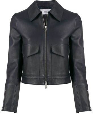 Victoria Victoria Beckham Patch Pocket Cropped Jacket