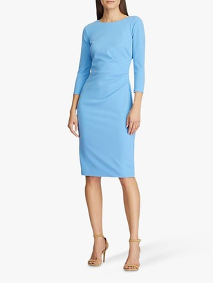 Ralph Lauren Ralph Finnlie 3/4 Sleeve Day Dress, Eos Blue