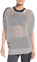 Blanc Noir Women's Sea Breeze Mesh Top