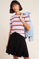 Maeve Jovie Ribbed Sweater Mini Skirt