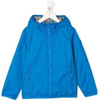 Ciesse Piumini Junior Hooded Zip-Up Raincoat