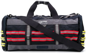 White Mountaineering x Eastpak stitch panel holdall