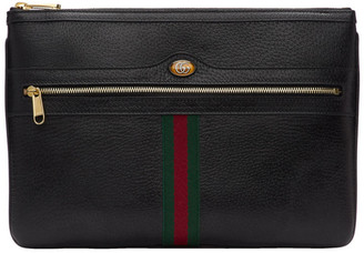 Gucci Black Ophidia Pouch