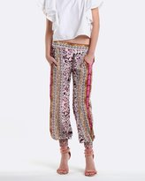Coco Ribbon Rose Garden Gold Harem Pants