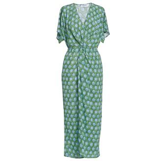 AILANTO Starfish Blue Wrap Dress