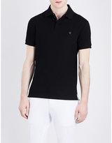 Ralph Lauren Purple Label Half Zip Cotton-piqué Polo Shirt